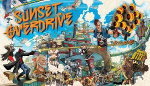 Sunset Overdrive will be available today on PC (Windows 10)