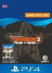 Buy Cheap THE DIVISION 2 YEAR 1 PASS PS4 CD Key