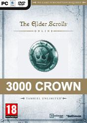 Buy Cheap The Elder Scrolls Online 3000 Crown Pack PC CD Key