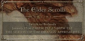 "The Elder Scrolls Online: a ""Massive Announcement"" for January 15"