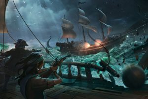 The next Sea of Thieves update will reduce the size of the game on the hard drive