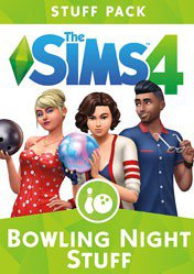 Buy The Sims 4 Bowling Night Stuff DLC pc cd key for Origin