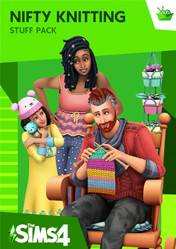 Buy The Sims 4 Nifty Knitting Stuff pc cd key for Origin
