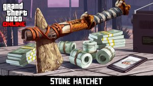 The stone hatchet from Red Dead Redemption 2 is now available in GTA Online