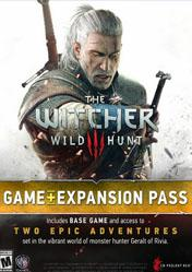 Buy The Witcher 3 Wild Hunt Game + Expansion Pass Pack PC CD Key