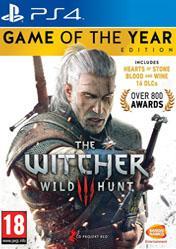 Buy The Witcher 3 Wild Hunt GOTY PS4 CD Key