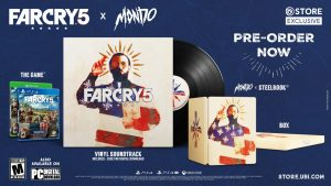 Ubisoft presents a Far Cry 5 limited edition in partnership with collectibles company Mondo