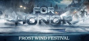 Ubisoft presents the new winter event for For Honor, called Frost Wind Festival