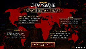 Warhammer Chaosbane confirms its closed beta from 7th March to 13th March 2019