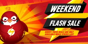 Weekend Flash Sales at the Kinguin Store!