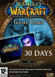 Buy Cheap World of Warcraft: 30 Day Pre-Paid Time Card EU PC CD Key