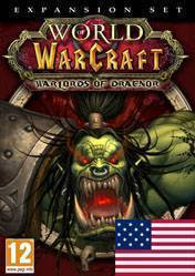 Buy World of Warcraft: Warlords of Draenor US pc cd key for Battlenet