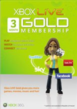 Buy Xbox LIVE 3 Months Gold Subscription Card PC CD Key