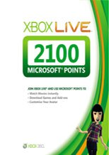 Buy Cheap Xbox LIVE EU 2100 Points PC CD Key