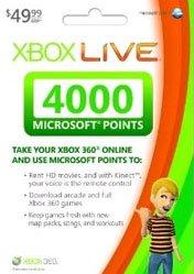 Buy Cheap Xbox LIVE EU 4000 Points PC CD Key