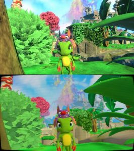 Yooka-Laylee: a downgrade version to go back to 1998